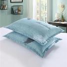 枕芯 枕頭學生宿舍寢室單人雙人護頸椎可愛卡通枕頭枕芯加枕套 晶彩生活