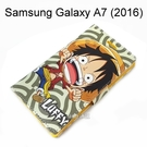 海賊王皮套 [R02] Samsung A710Y Galaxy A7 (2016) 航海王 魯夫【台灣正版授權】