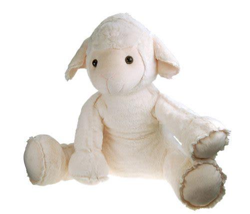 絨毛小羊坐姿玩偶 40cm【Les Petites Marie】