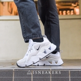 (預購)ISNEAKERS Nike Ryz365 孫芸芸著用 女 灰白 簍空 增高 鋸齒球鞋 芸芸款 BQ4153-100
