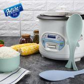新年大促小麥創意立式飯鏟子廚房家用打飯勺子電飯煲盛飯不粘米飯勺 森活雜貨