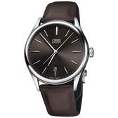 限量 Oris豪利時 Dexter Gordon 爵士機械錶-咖啡/40mm 0173377214083-SETLS