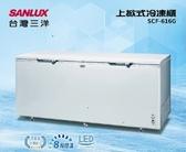 SANLUX 台灣三洋616L 上掀式冷凍櫃SCF-616G