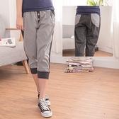 onlyyou 中大尺碼【A3181】簡單休閒~韓風前平織格子貼片口袋休閒褲 2色(XL~5L)