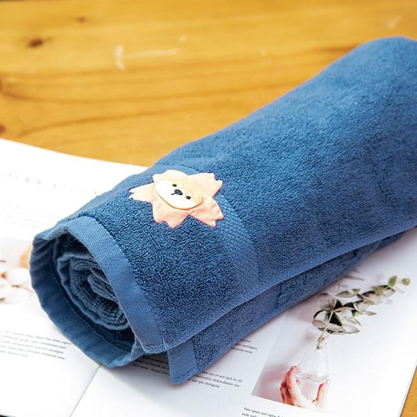 心花朵朵開浴巾