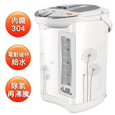 【中彰投電器】鍋寶(4.8L)節能電動熱水瓶,PT-4802D【全館刷卡分期+免運費】