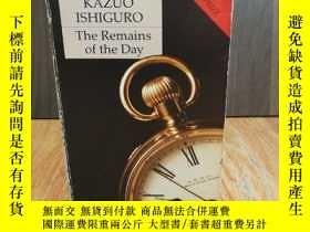 二手書博民逛書店Remains罕見of the DayY12800 Kazuo