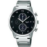 【人文行旅】Agnes b. | 法國簡約雅痞 FBRD974 太陽能時尚腕錶 41mm