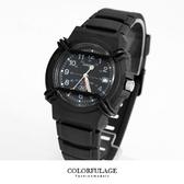 CASIO卡西歐100米防水10年電力指針錶夜光功能全黑腕錶 優質店家【NE1286】原廠公司貨