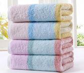 [2條裝]純棉大毛巾 加厚全棉面巾洗臉巾
