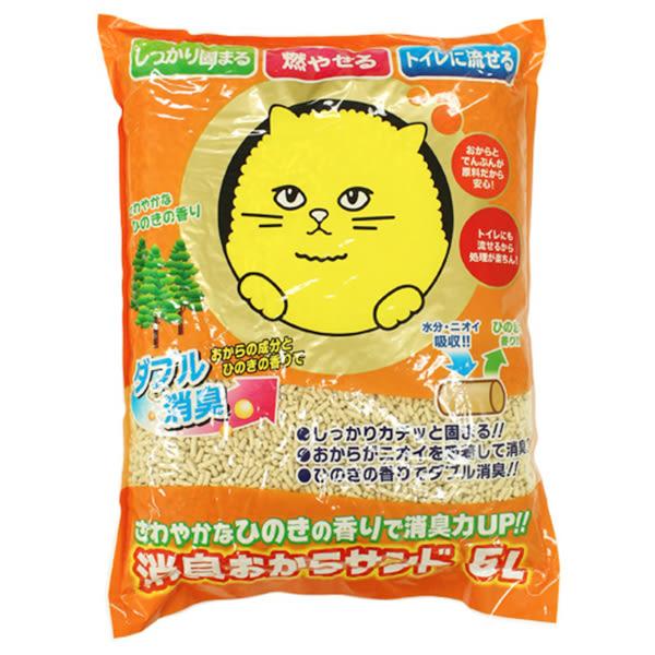 PetLand寵物樂園《日本Super Cat》超級貓環保豆腐貓砂 5L / 環保紙砂韋民豆腐砂同等級【到貨】