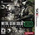 3DS Metal Gear Solid Snake Eater 3DS 潛龍諜影:食蛇者 3D(美版代購)