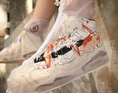 雨鞋套AJ鞋套雨鞋套防雨防水原創如鯉得水AJ迷福音 【時髦新品】
