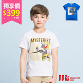 網路獨家-JJLKIDS 男童 探索埃及圓領純棉短袖上衣T恤(2色) 售價:499
