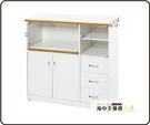 {{ 海中天休閒傢俱廣場 }} B-34 環保塑鋼 電器櫃系列 909-04 3.3尺電器櫃