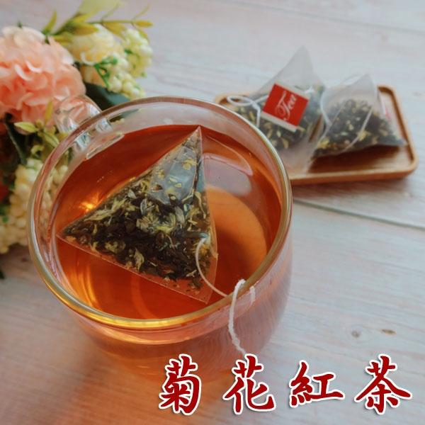 菊花紅茶 茶包 20小包 菊花加錫蘭紅茶 清香順口好喝 【正心堂】
