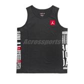 Nike 背心 Jordan Tank 黑 紅 籃球 純棉材質 訓練衣 正常版型 【PUMP306】 BV6356-010