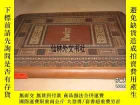二手書博民逛書店【罕見】1884年出版 愛麗絲《友情詩抄》Hand Written Poetry Album By Alice C