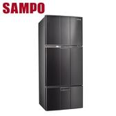 SAMPO聲寶【SR-A58GV】580L省電脫臭三門冰箱