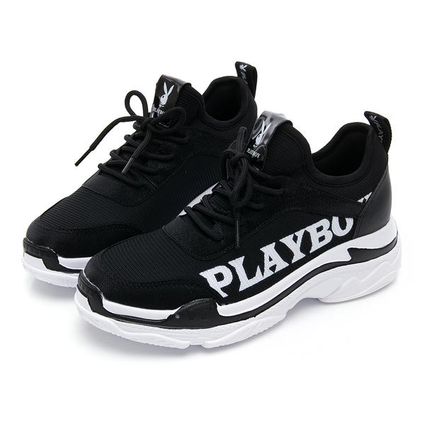PLAYBOY SPIRIT 兔兔老爹鞋-黑(Y5277)