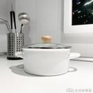PAGOO琺瑯日式搪瓷鍋家用加厚雙耳湯鍋燉鍋煮面鍋燃氣電磁爐通用 樂事館新品