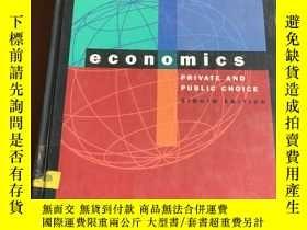 二手書博民逛書店Economics罕見Private and Public Ch
