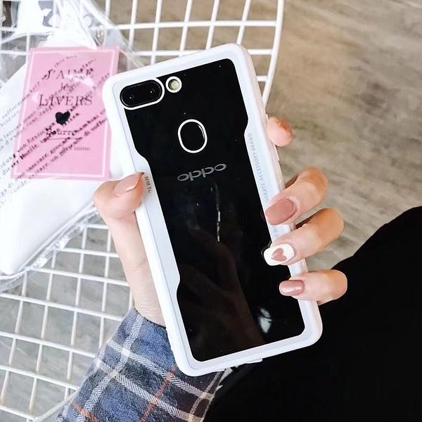 簡約亞克力透明皮套OPPO R11S PLUS手機套 毆珀R17Pro簡約保護套 防摔R17保護殼 OPPO R15Pro素面手機殼