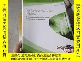 二手書博民逛書店reference罕見services review 2012