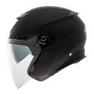 【東門城】LUBRO CRUISE TECH 素色(消光黑)半罩式安全帽 雙鏡片