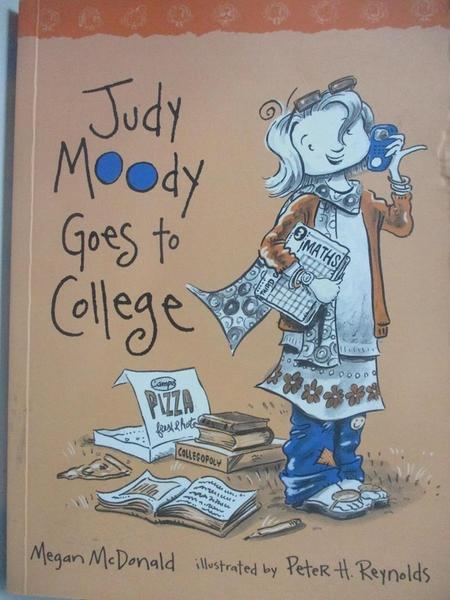 【書寶二手書T6/原文小說_AKI】Judy Moody Goes to College_Megan McDonald