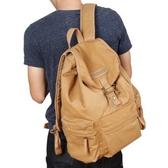 帆布單眼相機包休閒多功能專業數碼戶外後背包攝影包單眼背包  雙十二全館免運