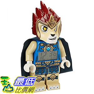 [美國直購] LEGO 9000560 Laval 人偶鬧鐘 Legends of Chima Laval Mini-Figure Alarm Clock 神獸傳奇 無敵獅