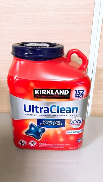洗衣膠囊 科克蘭 強效清潔洗衣膠囊 清新香味 3.6公斤 152顆 Costco 好市多 洗衣精 超取限1桶