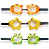 游泳面鏡 INTEX55603-兒童趣味泳鏡 戲水玩具游泳鏡動物造型適合3-8歲 野外之家