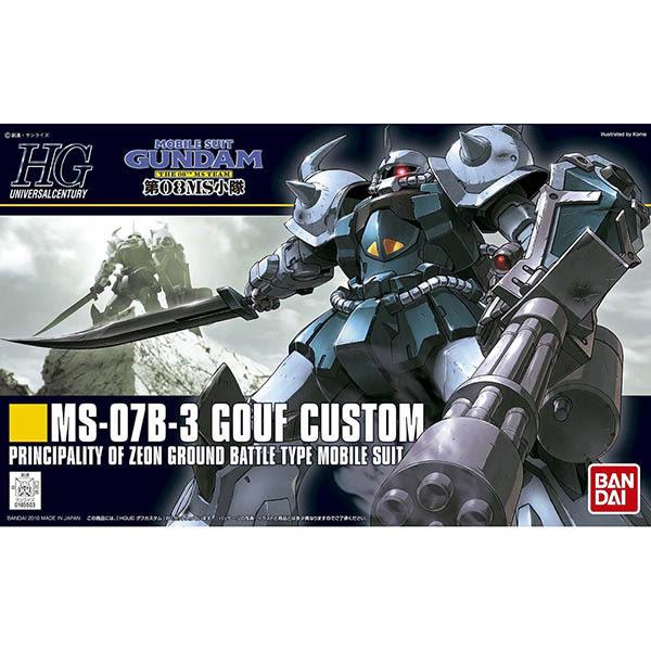 鋼彈 第08MS小隊 BANDAI 組裝模型 HGUC 1/144 古夫特裝型 117