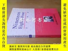 二手書博民逛書店nineteen罕見eighty-four 1984Y17984