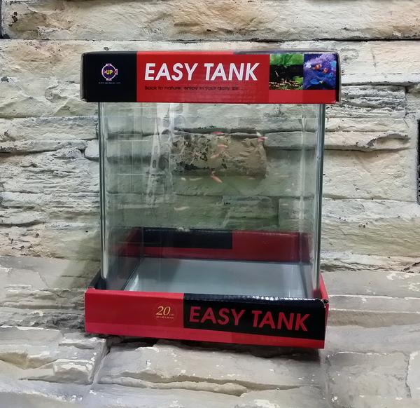 【西高地水族坊】台灣UP雅柏 easy tank ㄇ缸25cm*25cm*30cm