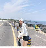 2018新款白色連帽純棉衛衣女春秋季薄款學生韓版寬鬆長袖上衣女