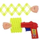 伸縮拳頭槍 大 整人拳頭玩具槍 童玩/一...