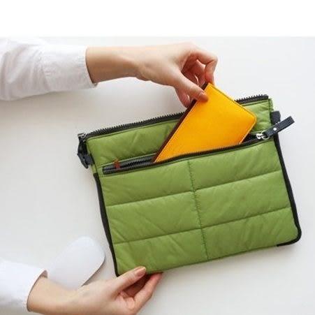 韓版 多功能IPAD收納包 10吋平板電腦包 整理袋 加厚包中包 盥洗包 旅行袋 行李箱 化妝包 【RB363】