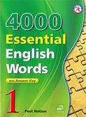 4000 Essential English Words 1(with Key)