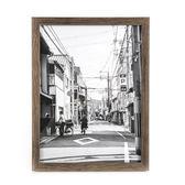 HOLA 壁掛/桌立兩用相框深木色 6x8