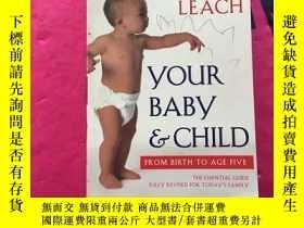 二手書博民逛書店penelope罕見leach your baby childY