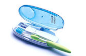 iONCARE 雙牙刷 雙座 便攜式 旅遊 UV紫外線殺菌 電動牙刷頭 牙刷盒 牙刷殺菌器 滅菌器 除菌
