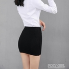 窄裙 超短裙走光後入超露戶外情趣包臀裙緊身夜店小短裙無內包臀半身裙 夏季新品