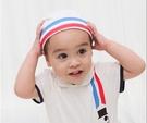新生兒小圓帽 帽子 造型帽 純棉 海軍風 男寶寶 女寶寶 Augelute Baby 60282
