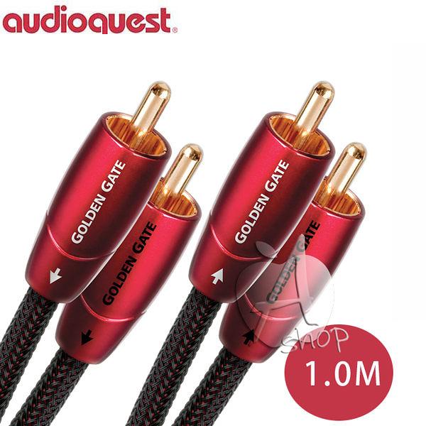 【A Shop】美國 Audioquest Golden Gate訊號線 1M (RCA-RCA)