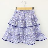 【愛的世界】鬆緊帶純棉小短裙/4~6歲-台灣製- ★春夏下著