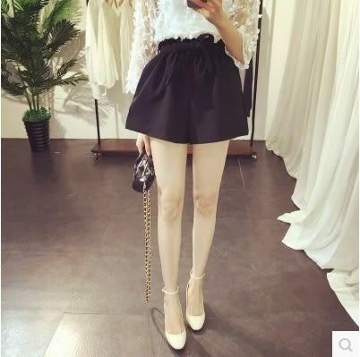 (全館一件免運)DE shop -時尚百搭顯瘦鬆緊高腰花苞短褲  (HL-417)