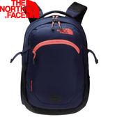 【The North Face 25L 13吋電腦背包 藍/明亮橘】NF00CA7K/電腦背包/電腦包/後背包★滿額送